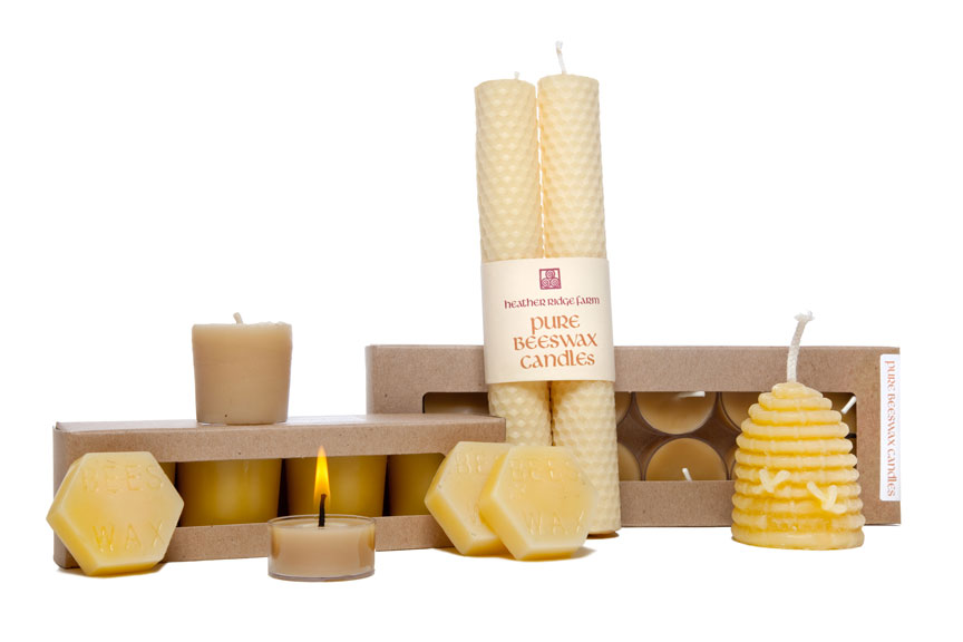 100 beeswax candles heather ridge farmheather ridge farm