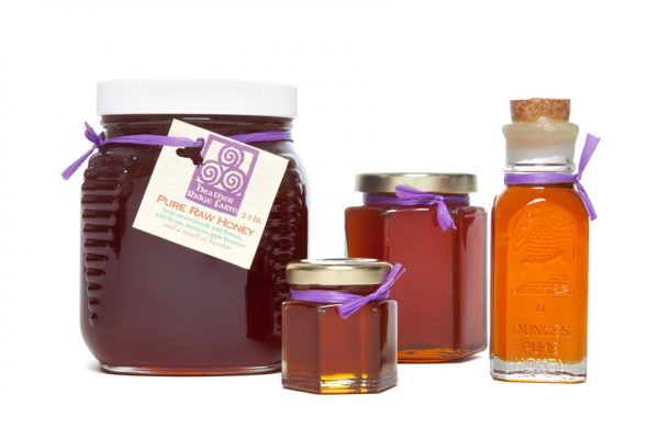Raw Honey – Glass Jar